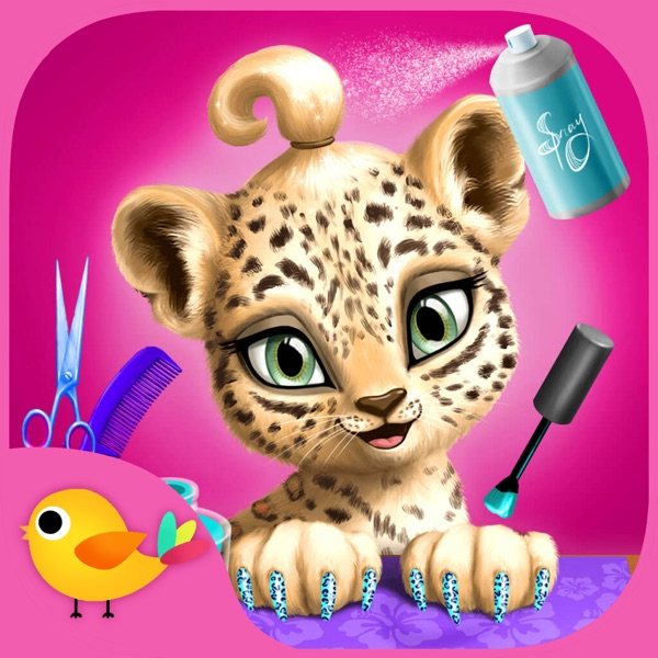 Jungle Animal Hair Salon - Wild Pets Haircut