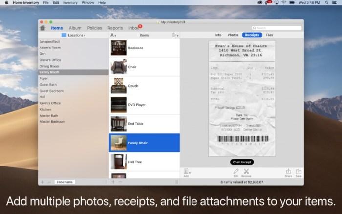 Home Inventory Screenshot 02 13btpzn