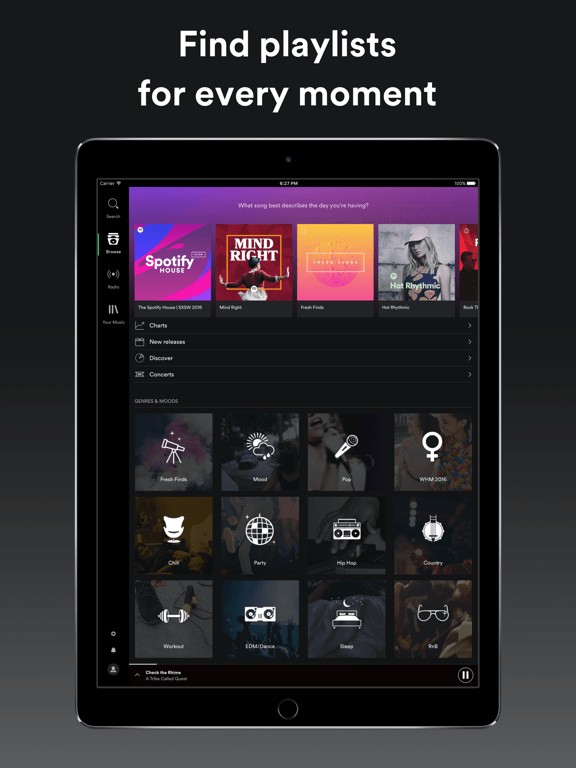 Spotify – Make your music a community experience | AppChasers