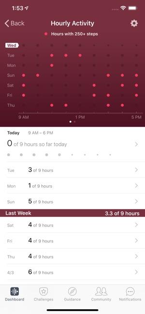 Fitbit Screenshot