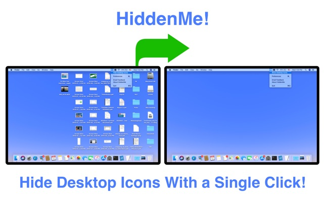 HiddenMe Screenshot