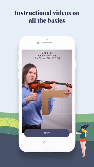 Trala: Learn Violin - download iPhone iOS app in ...