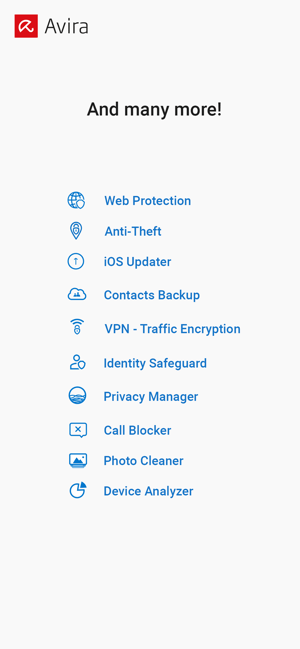 ‎Avira Mobile Security Screenshot