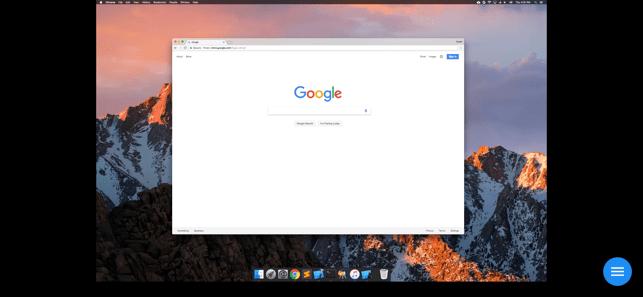 Chrome リモート デスクトップ Screenshot
