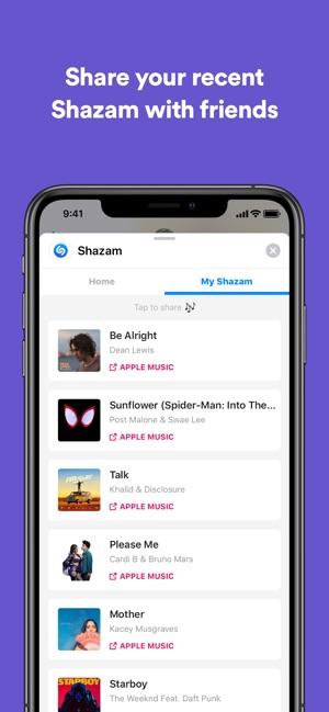 Shazam Screenshot