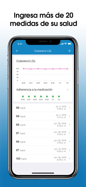 Recordatorios de Medicina Screenshot