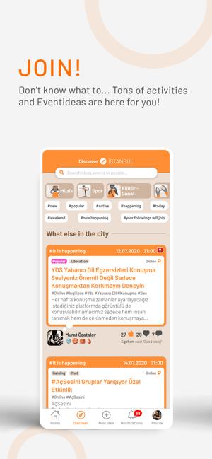 EventIdea Screenshot