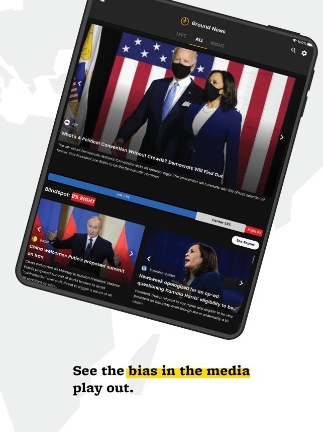 Ground News Screenshot