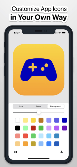 Icon Themer & Changer App Screenshot