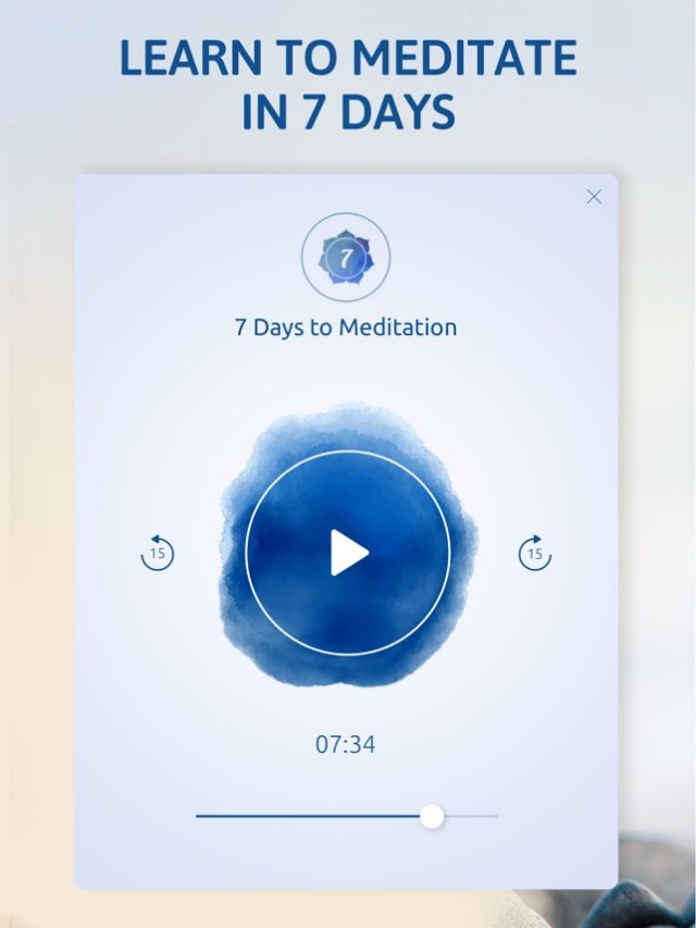 ‎Meditation and Relaxation Pro Screenshot