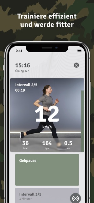 ready – fit for #teamarmee Screenshot