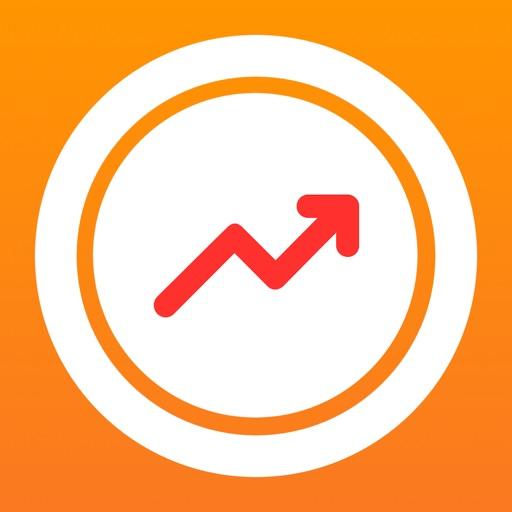ぴたコイン-ビットコイン予想、仮想通貨チャートfxゲーム