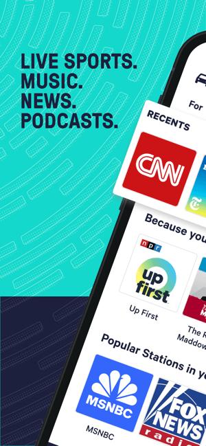 TuneInRadio: Music & Sports Screenshot