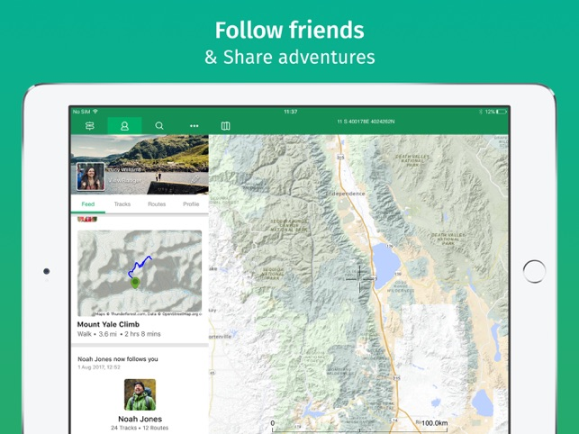 ViewRanger: Hike, Ride or Walk Screenshot