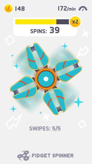Fidget Spinner Screenshot