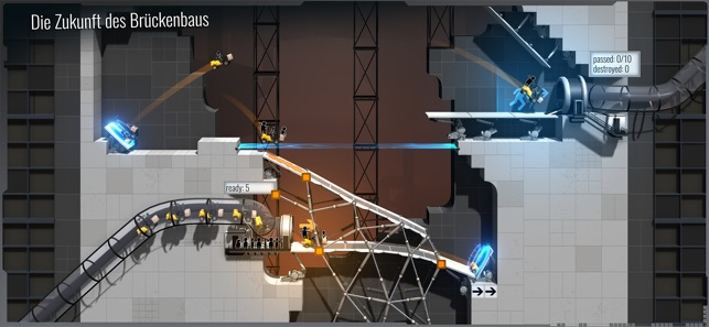 Bridge Constructor Portal Screenshot