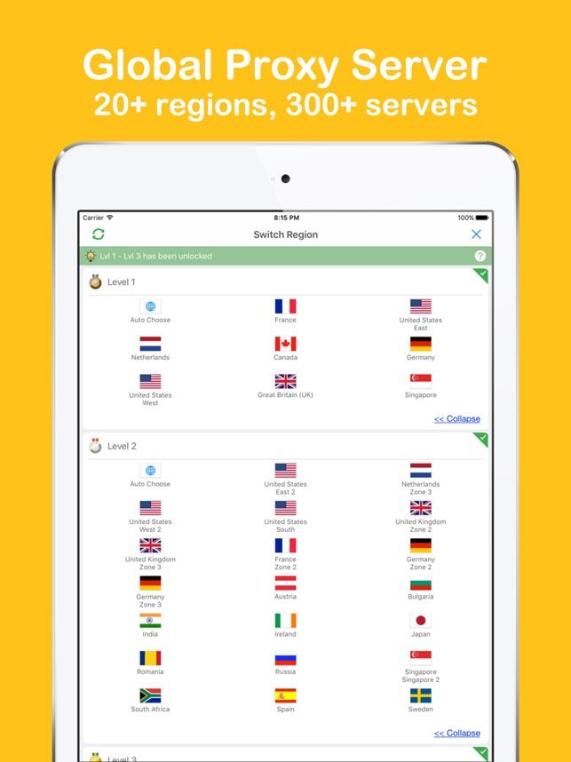Yoga VPN - Unlimited Proxy VPN Screenshot