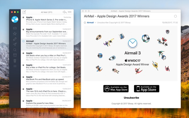 Airmail 3 Screenshot