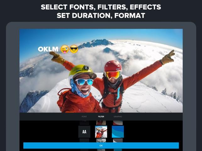 Quik - GoPro Video Editor Screenshot