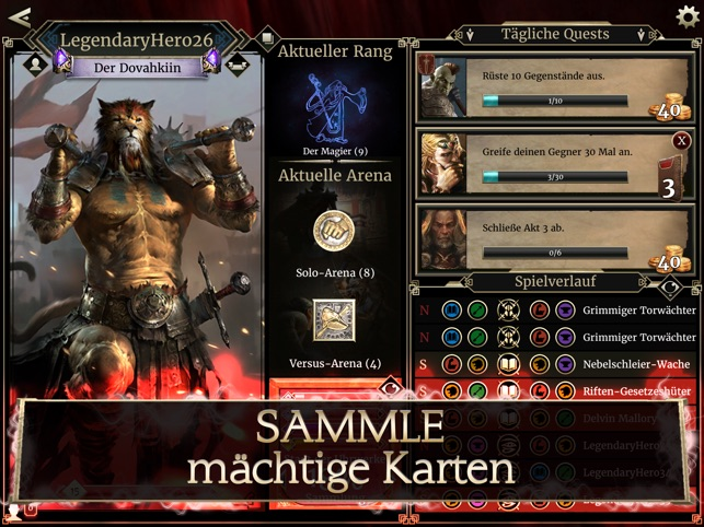 The Elder Scrolls: Legends Screenshot
