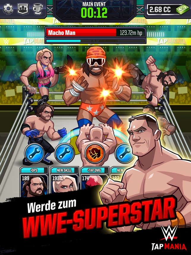 WWE Tap Mania Screenshot