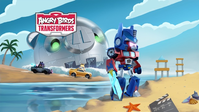 Angry Birds Transformers Screenshot