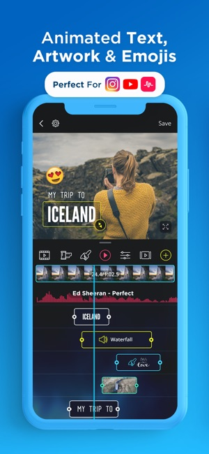 VidLab - Video Editor & Movies Screenshot