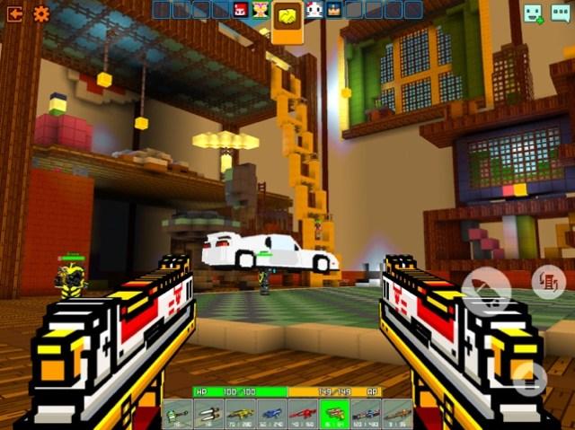 Cops N Robbers (FPS): 3D Pixel Screenshot