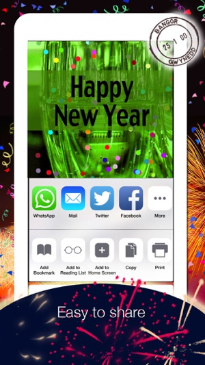 2019 - Happy New Year Cards Screenshot