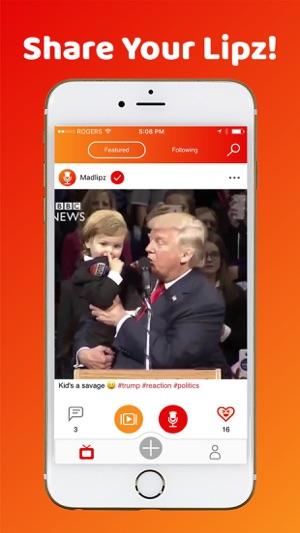 MadLipz - Instant Voice Overs Capture d'écran