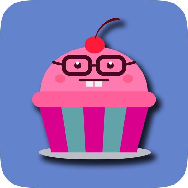 Cupcake Emoji Sticker Pack