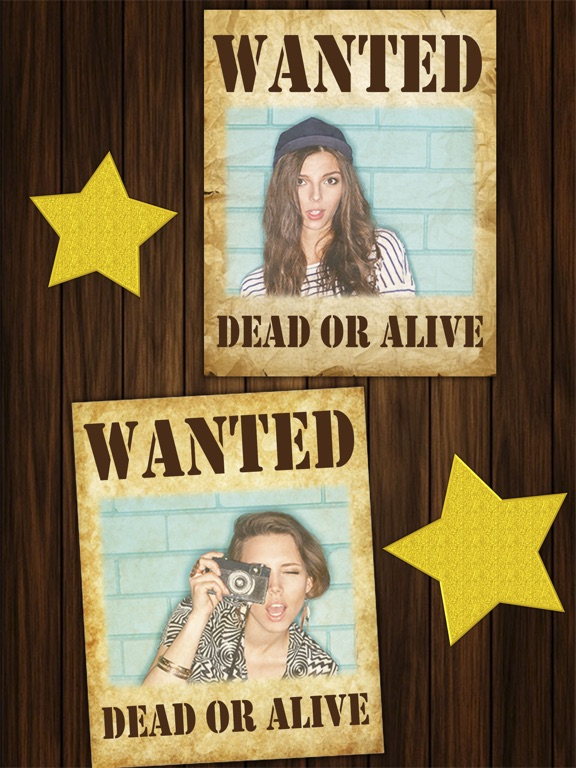wanted poster maker western style