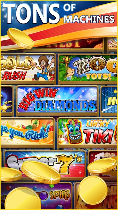 Big Win Slots™- New Las Vegas Casino Slot Machines 2.7.2  IOS
