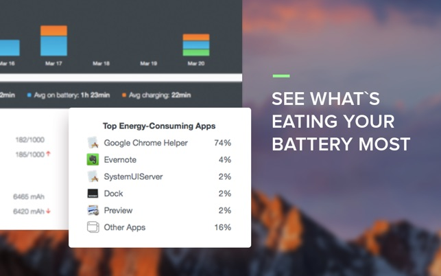 Chargeberry – Battery Monitor Screenshot