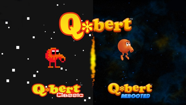 Q*bert Rebooted Screenshot