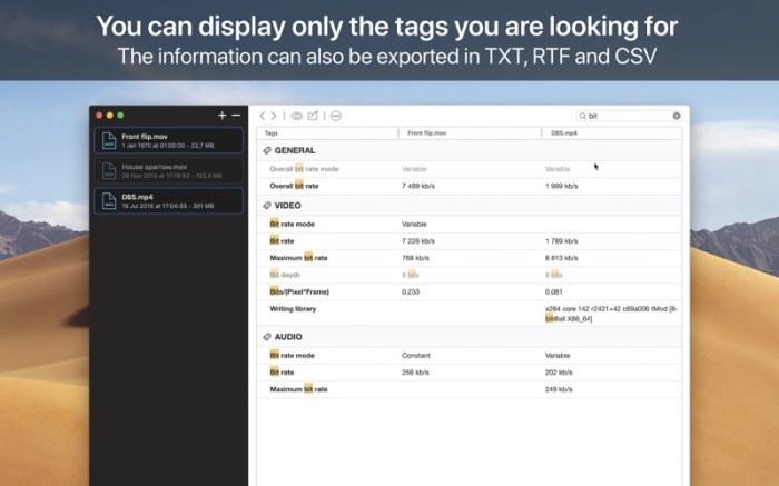 VideoScan Screenshot 03 rrwwjon