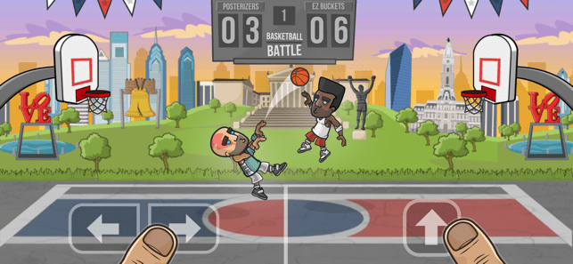 ‎Basketball Battle: Streetball Screenshot