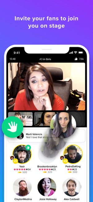 Younow Live Stream Chat On The App