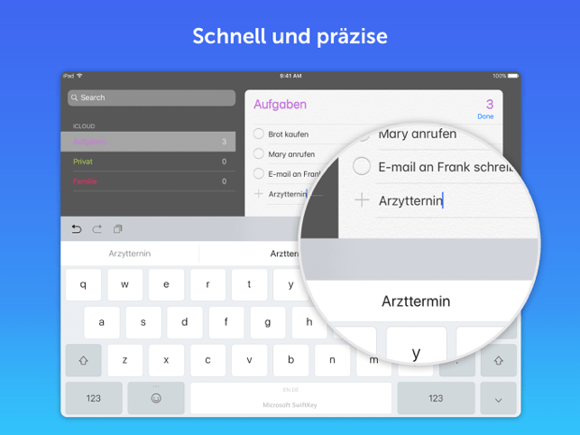Microsoft SwiftKey-Tastatur Screenshot