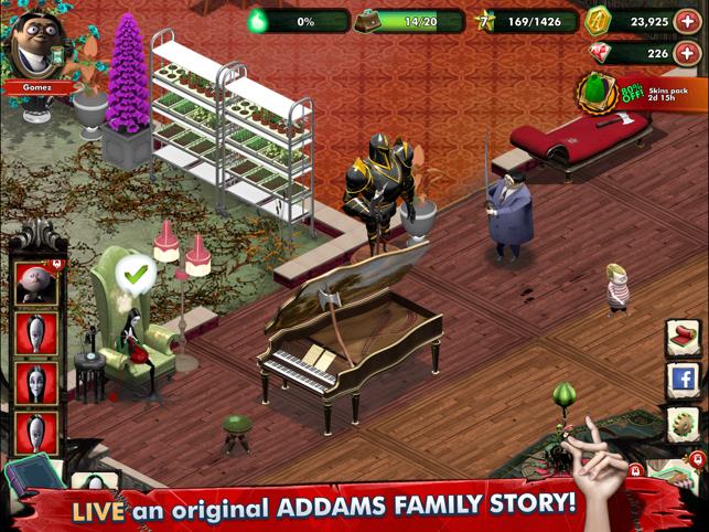 Addams Family: Mystery Mansion Screenshot