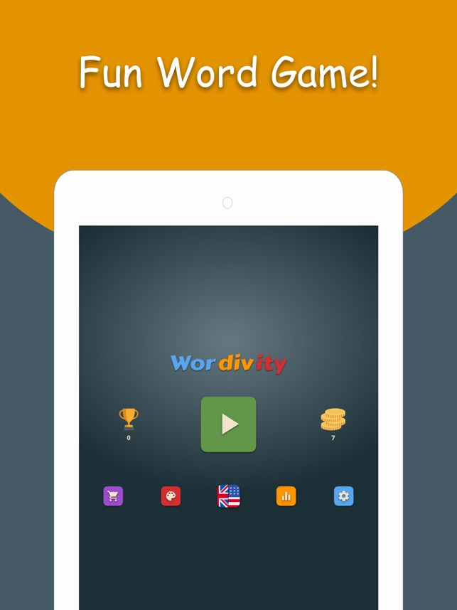 Wordivity - Fun Crossword Game Screenshot