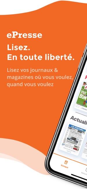 presse et magazines on the app store