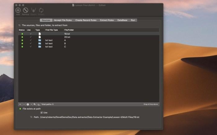 Data Extractor Screenshot 01 13at2wn