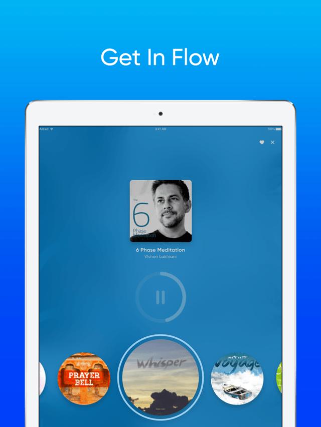 Omvana - Get In Flow Screenshot