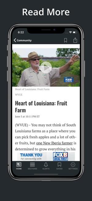 Fox 8 News New Orleans Weather App | Unixpaint