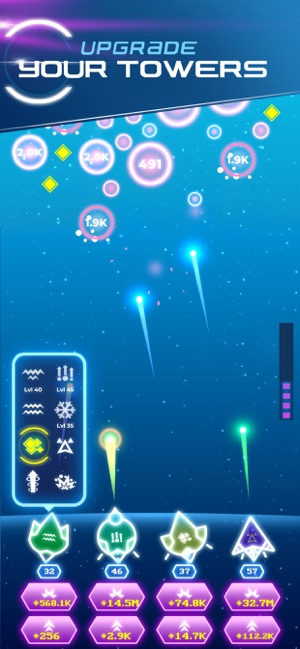 ‎Non-Stop Space Defense Screenshot