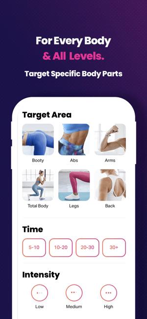 FitOn Workouts & Fitness Plans Screenshot