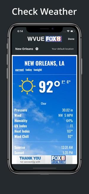 Fox 8 News Weather Hourly | Unixpaint