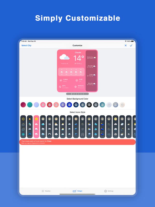 Hey Weather Screenshot
