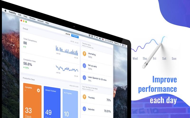 Habitify Habit Tracker 6.0 Mac 破解版 - 提高提升效率的多功能小应用